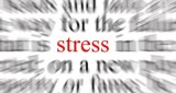 Living with stress… seven random ideas pulled together from experience